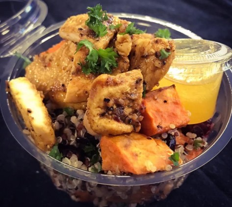 Moroccan Chicken and Quinoa Salad