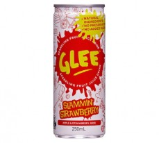 Glee Slammin Starwberry Sparkling Fruit Juice Drink