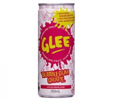 Glee Bubblegum Grape Sparkling Fruit Juice Drink