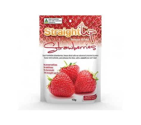 Strawberries Pack: Straight Up Freeze Dried
