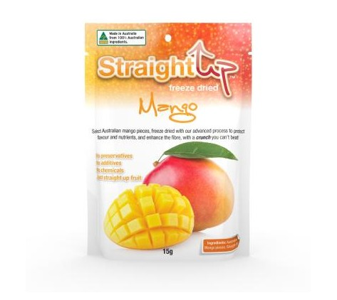 Mango Pack: Straight Up Freeze Dried
