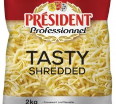 President Professional Shredded Tasty Cheese